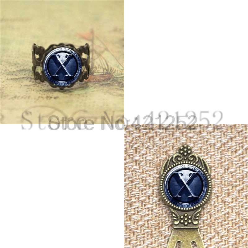 X-Men pendant X-men Glass Photo Cabochon Necklace keyring bookmark cufflink earring