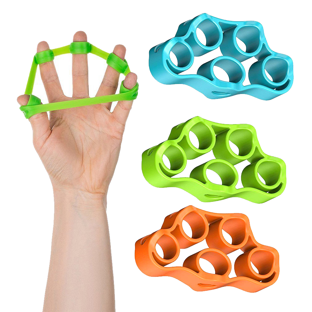 Fitness-Equipment Rubber Bands Elastic-Band Hand-Stretch Muscle Expander Finger Power-Training