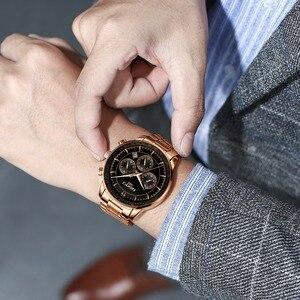 Image 5 - NIBOSI hommes montre 2019 militaire étanche Date hommes montres haut marque de luxe chronographe créatif montre hommes Relogio Masculino