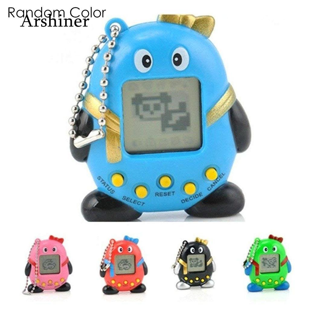 2018 Tamagotchi Electronic Pets Toys 90S Nostalgic 168 Pets In One Virtual Cyber Pet Toy 6 Style Tamagochi Penguins Toy