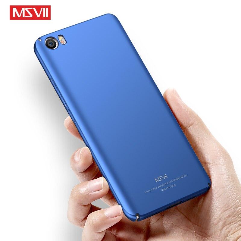 Msvii Frosted-Cover S-Cases Xiaomi Mi-5s Mi5 For Mi5x/hard