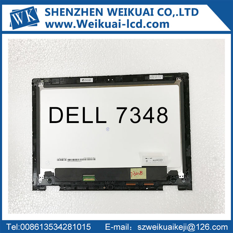 цены  Free shipping 13.3'' LCD Touch Screen LTN133HL03-201 Assembly For Dell Inspiron 13 7000 series 7347 7348 P57G (1920*1080)