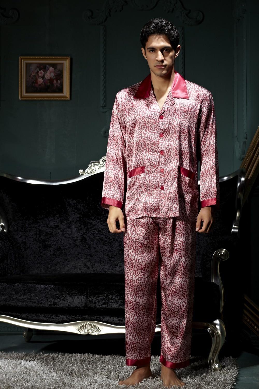 men's silk satin pajama sets for men 2 piece white short ...