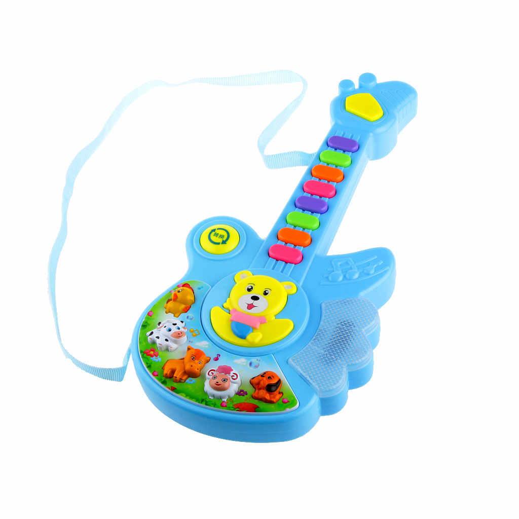 חשמלית ילדי תינוק משתלת צעצועי חיה כפתור מכשירי ילד בגיל רך ילדות למידה חינוכיים צעצוע