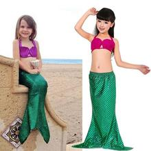 Ariel The Little Mermaid Tail Princess Ariel Dress Cosplay Costume For Girl Kids