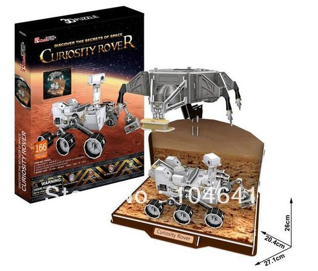 CURIOSITY ROVER CubicFun 3D educational puzzle Paper & EPS Model Papercraft Home Adornment for christmas gift