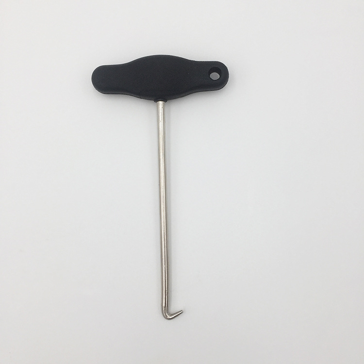 3438 T-Handle Handbrake Pull-out Hook For Volkswagen Audi Remover Instalerl DashBoard Trims Removal Tool