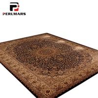 American Style Printing Floral Carpet for Living Room/Bedroom Persian Mats Fashion Non slip Large Pad Carpets Household Supplies
