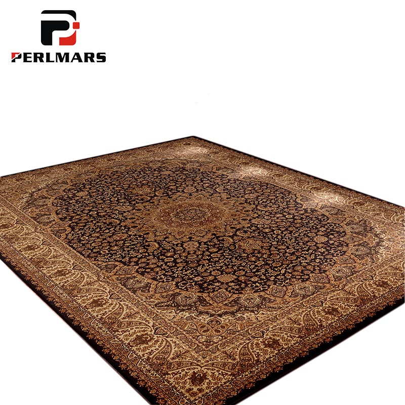 Style américain impression tapis Floral pour salon/chambre tapis persans mode antidérapant grand tapis tapis fournitures de ménage