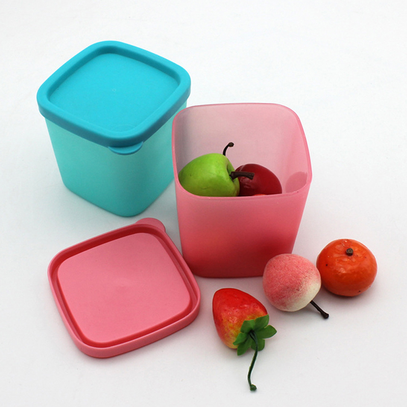 Sauce-Box Storage-Tank Plastic Kitchen Mini Seasoning Condiment Pp Pepper-Pot Lid And
