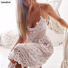 Ruffles slash neck women Lace White dress Summer Hollow Out off shoulder sexy dresses vestidos beach dress ruffles slash neck women dress summer style off shoulder sexy dresses vestidos white tube beach dress cotton 2016 new