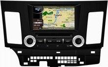 MTK3360 512 МБ быстрее скорость WinCE 6.0 dvd-плеер автомобиля GPS для Mitsubishi Lancer (2007-2012) радио Bluetooth карта камеры Авторадио