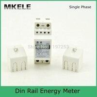 New Arrivals Din Rail MK LEM012SJ Energy Electricity Meter Box AC Mini Digital Display Power Supply