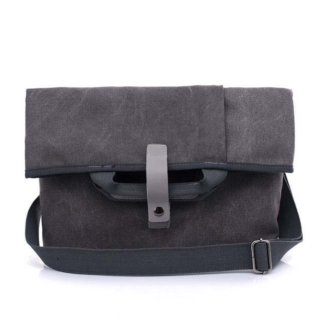 7a368f63db23 Fabra New Canvas Men Messenger Bags Vintage Big Casual Tote Bucket Folded  Man Crossbody Shoulder Bag