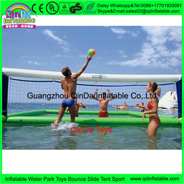 12*6*1.5m  Inflatable Beach Volleyball Court,Floating Volleyball Field Sprot Games On Sale