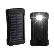 Wopow Solar Power bank 30000mAh poverbank portable usb solar charger external battery backup powerbank 30000 mah