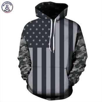 USA Flag Hoodies Men/women 3d Sweatshirts