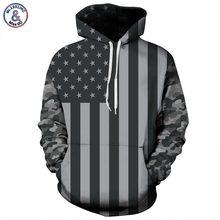 Mr.1991INC USA Flag Hoodies Men/women 3d Sweatshirts Print Striped Stars America Flag Hooded Hoodies Tracksuits Pullover