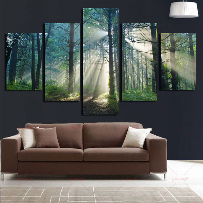 Forests Wall Decora For Living Room