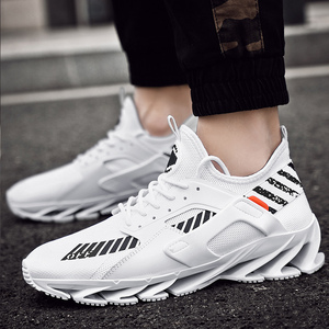 Image 2 - 2019 plus size 39 46 men sneakers Comfortable adult designer lightweight fashion Breathable summer trainers men shoes #ABG72