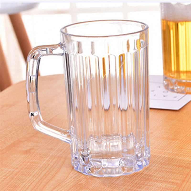 RUIDA Transparent Creative Wine Plastic Cup Beer Coffee Tea Juice High Boron Martini Cocktail Glasses Perfect Gift Cup Bar Mug in Mugs from Home Garden