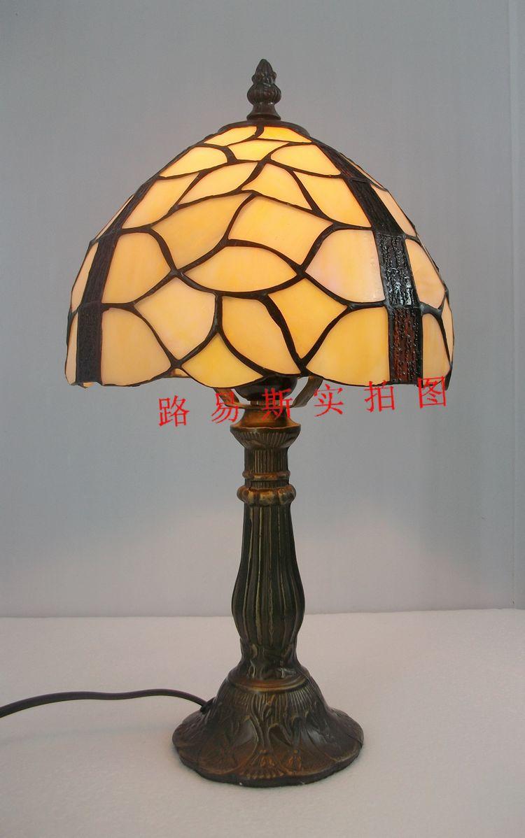 20CM European retro export Tiffany table lamp decorated with minimalist bedroom bedside lamp night Caibo женские чулки export
