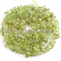 """FREE SHIPPING 2x3-4x5MM FREEFORM GREEN PERIDOT CHIPS BEADS NATURAL STONES FOR DIY NECKLACE BRACELAT JEWELRY MAKING STRAND 15"""""""