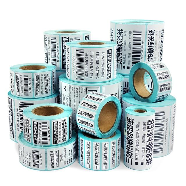 Thermal Barcode Sticker 1 Roll Lembar  6