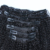 Africano Americano Clipe em Extensões Do Cabelo Humano Grampo em Extensões Do Cabelo Virgem Brasileiro Não Processado 8 pçs/lote Grampo em Extensões