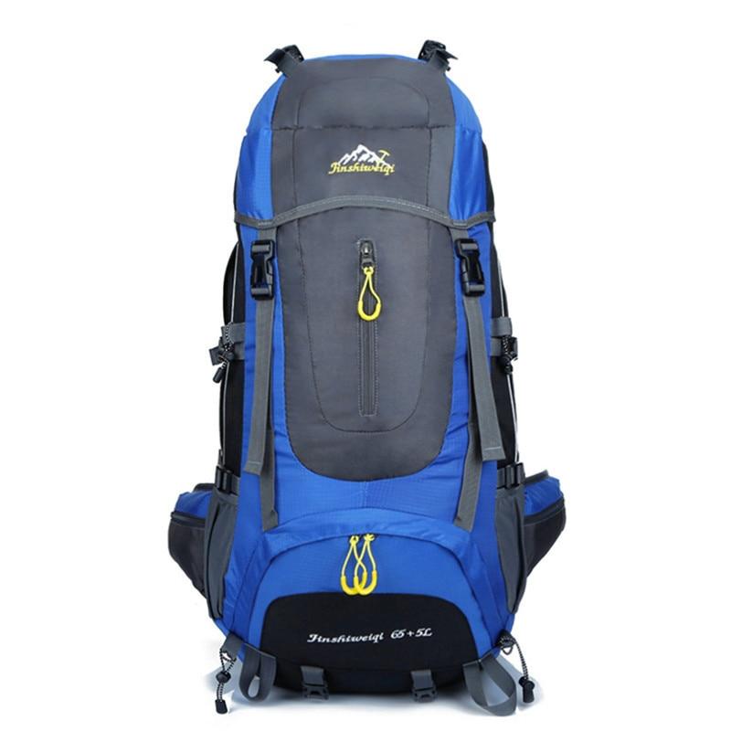 70L Waterproof Climbing Bag Hiking Backpacks Sports Bag Travel Trekking Rucksack for Men Women Males Teengers