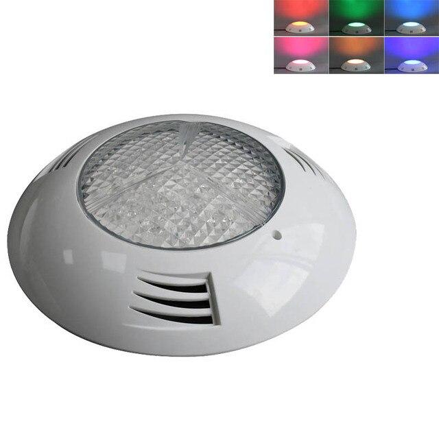 12 V Marine Boot Kunststoff LED Unterwasser Licht RGB 6 W 24 W Schwimmen Pool Dekoration Lampe IP68 Wasserdicht