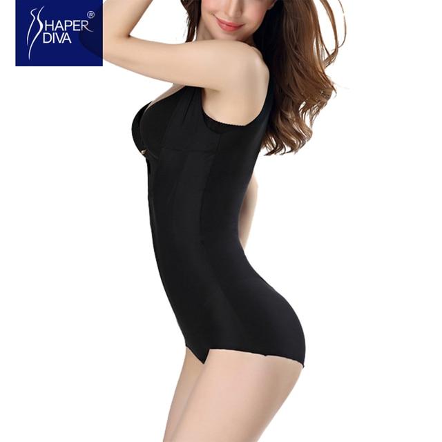 0785f8f1a7 Shaper diva Slimming Body Shaper Underwear Shaper Tummy Trimmer Butt Lifter  Hot Shaperwear Firm control bodysuit women