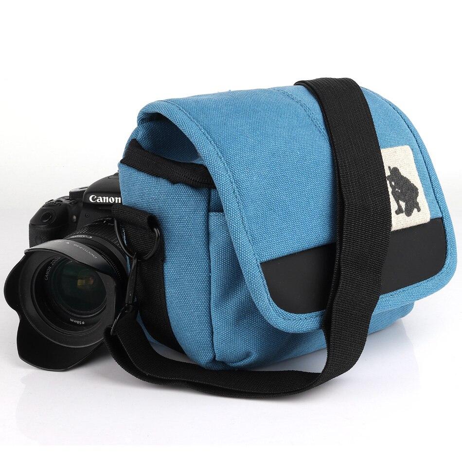 HUWANG DSLR Camera Bag For Olympus TG-5 TG-4 TG-3 TG-850 TG-870 TG-860 SH-1 SH-2 SZ-15 SP-100EE SP820 E-600 E-550 E-520 E-500