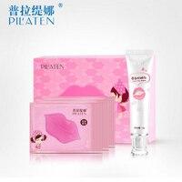 10pcs Lot High Quality Pilaten Moisturizing Collagen Nourishing Lip Mask Moisturizing Mask Free Shipping