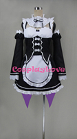 Re Zero Rem Cosplay Costume From Re Life In A Different World From Zero Cosplay Tailor