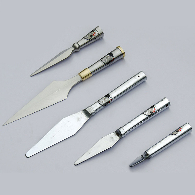 Various Stainless Steel Martial Arts Spear Heads 1