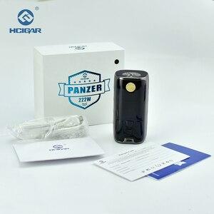Image 5 - Original HCIGAR PANZER Vaper Mod für Dual 18650 Batterie TC/TCR/VW Elektronische Zigarette 7 222W box Mod