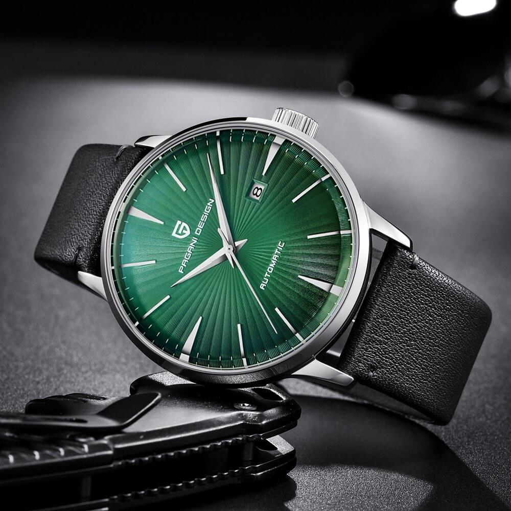 PAGANI CONCEPTION Top Marque Hommes Montre De Luxe Automatique Mécanique En Acier Inoxydable Style Simple Hommes Montres Horloge Relogio Masculino