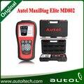 Autel MD802 Scan Tool Autel Maxidiag Elite MD802 todo o sistema lê e apaga códigos leitor de código de