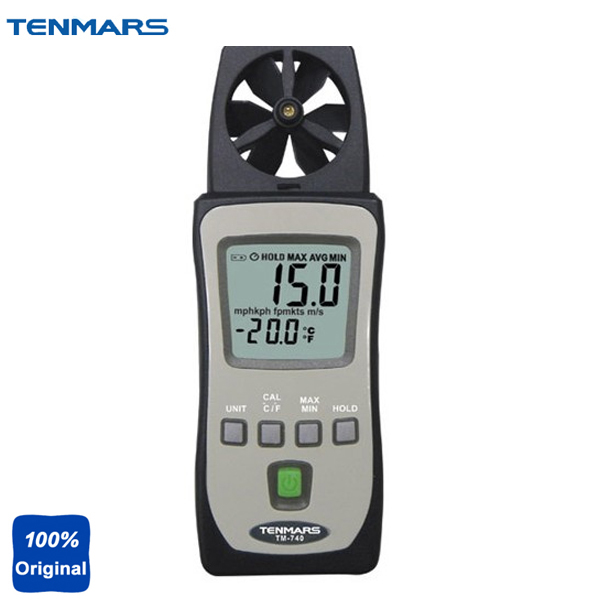 цены на TM-740 is a Low Cost and Pocket Size Model, It Measures Air Speed and Temperature Meter, and Ideal for Spot Measurement в интернет-магазинах