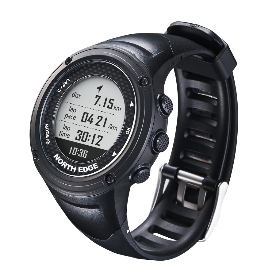 rate mens s sports heart gps watch digital north men waterproof details watches edge itm
