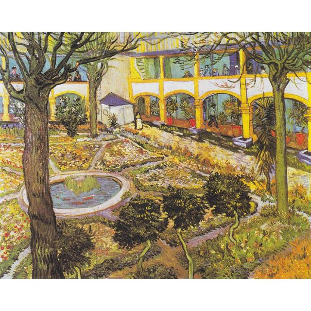 Delightful The Asylum Garden At Arles By Vincent Van Gogh Oil Paintings Reproduction  Landscapes Art Hand