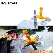 Kits de estilismo para coche reparación de parabrisas Ventana de coche para arañazos de cristal Restauración de grietas de parabrisas sellador de resina DIY herramienta de reparación de automóviles Poling