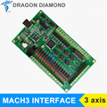 3 Axis CNC USB Card Mach3 200KHz Breakout Board Interface for CNC Machine