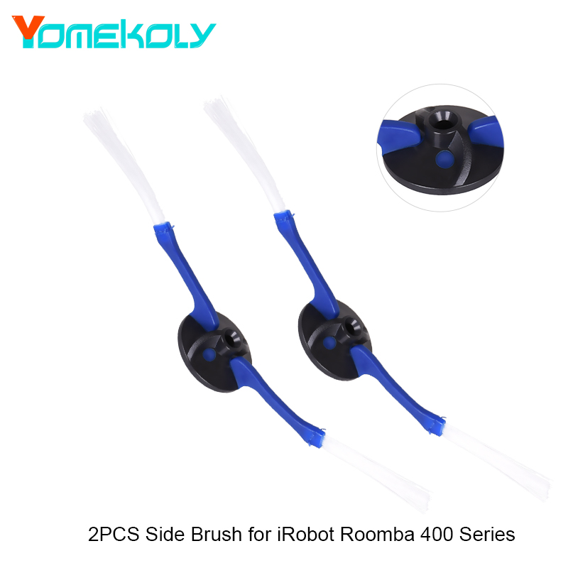 2PCS 2-Armed Side Brushes for iRobot Roomba 400 Series Cleaning Side Brush Vacuum Cleaner Accessories цена