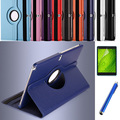 1pc/ 360 Rotating High quality Stand PU leather cover Case for Samsung Galaxy Note 10.1 2014 Edition P600 P601 P605 cover