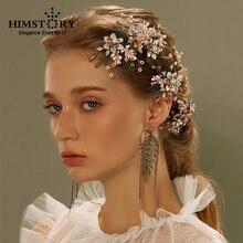 Европейский Винтажный цветок champag ручной работы свадебный