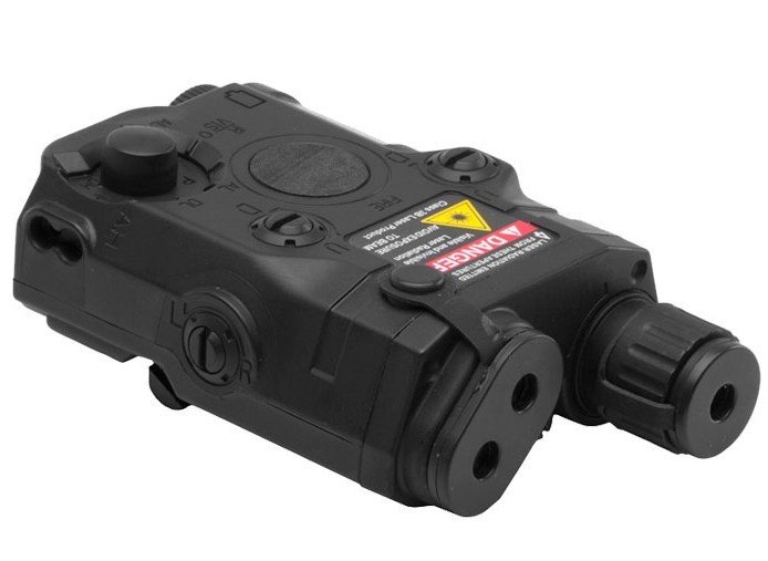 Бета проект AN/PEQ-15 LAM блок W/интегрированный лазерный прицел(Черный DE - Цвет: Черный