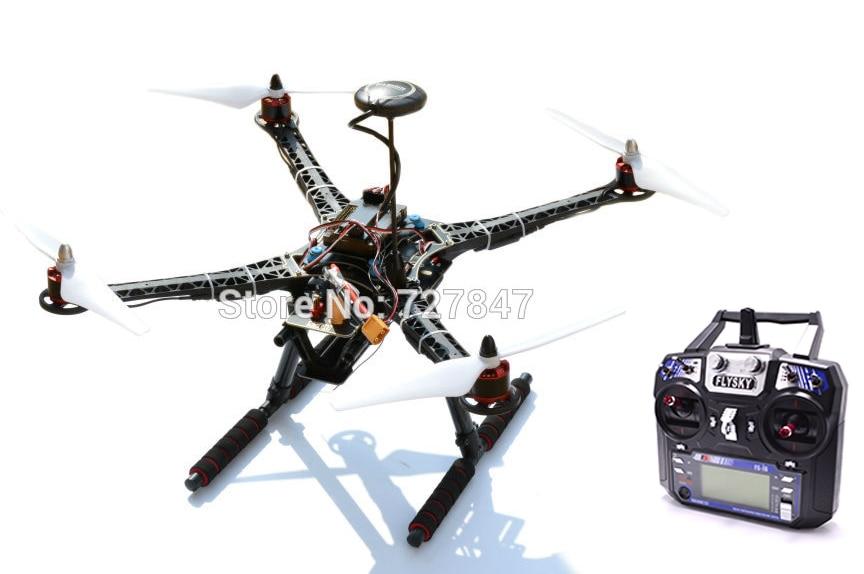 S500 Quadcopter Frame APM2.8 M8N GPS Power Module 2212 920KV Motor 30A Simonk ESC  Flysky i6 Transmitter & Receiver 500mm s500 quadcopter multicopter frame kit 2212 920kv brushless motor emax 30a simonk emax blheli 30a esc 1045 propeller