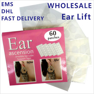 Image 1 - GROßHANDEL 100 packs/Lot Ohr Lift von Ohr Lappen Unterstützung Band Perfekte für schutz ohr von schwere große ohrringe